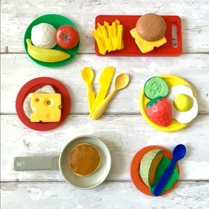 Play Food & Dishes Set 24 Pieces Kids Toys Bundle
